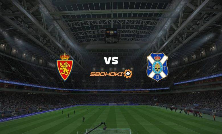 Live Streaming  Real Zaragoza vs Tenerife 6 Maret 2021 1