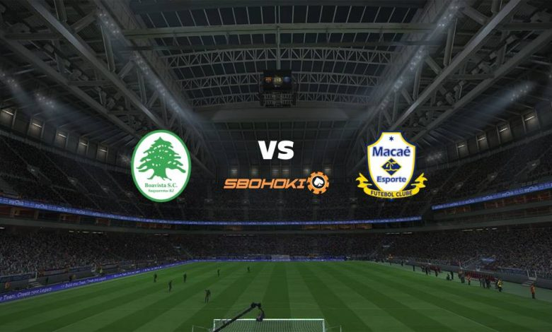 Live Streaming  Boavista vs Macaé 15 Maret 2021 1