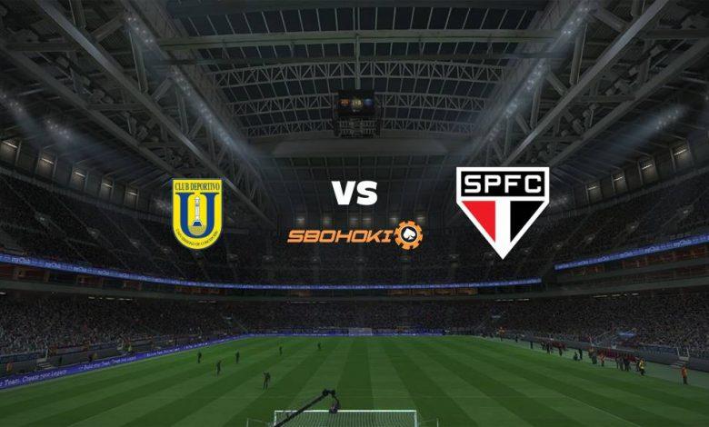 Live Streaming  Universidad de Concepcion vs Sao Paulo 6 Maret 2021 1