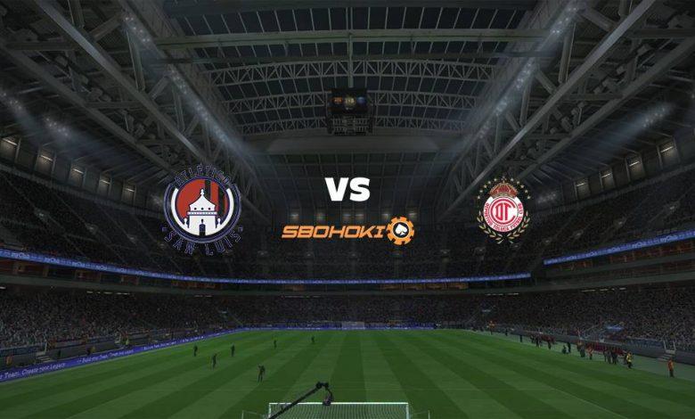 Live Streaming  Atlético San Luis vs Toluca 6 Maret 2021 1