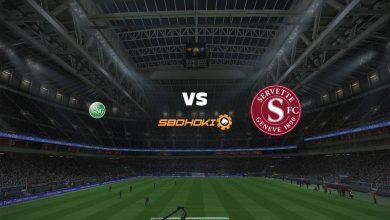 Photo of Live Streaming  St Gallen vs Servette 3 Maret 2021