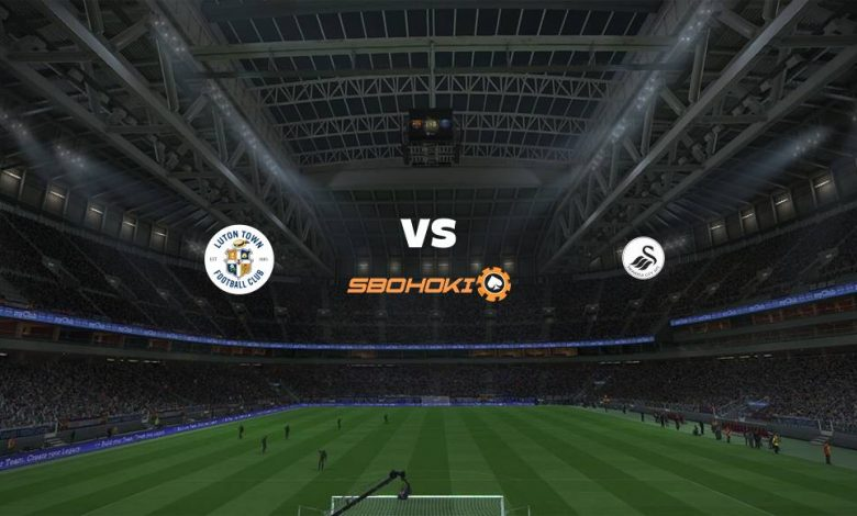 Live Streaming  Luton Town vs Swansea City 13 Maret 2021 1