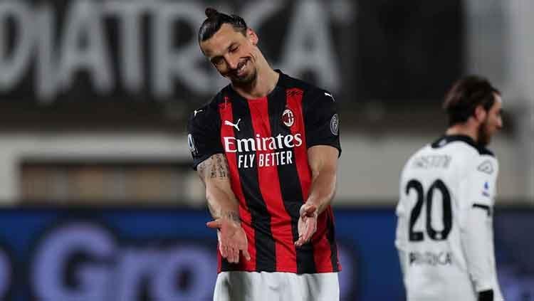 Tak Naik Gaji, AC Milan Selangkah Lagi Perpanjang Kontrak Ibrahimovic 1
