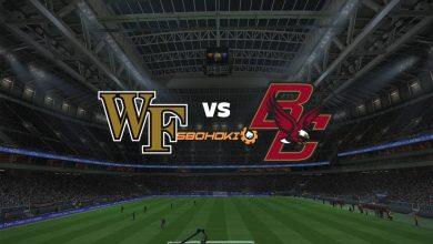 Photo of Live Streaming  Wake Forest vs Boston College 7 Maret 2021