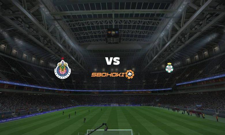 Live Streaming  Chivas Guadalajara vs Santos Laguna 4 April 2021 1