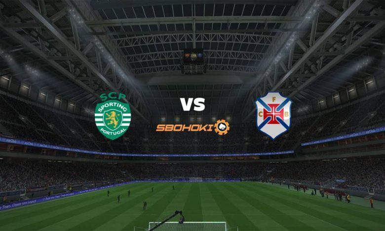 Live Streaming  Sporting CP vs Belenenses 21 April 2021 1