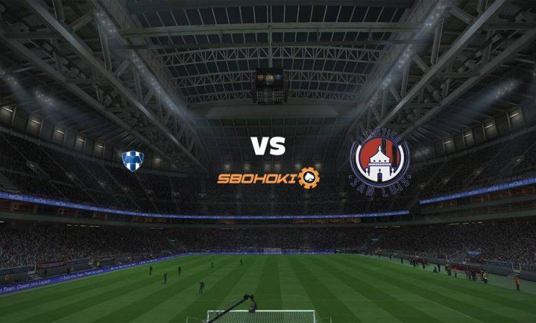 Live Streaming  Monterrey vs Atlético San Luis 4 April 2021 1