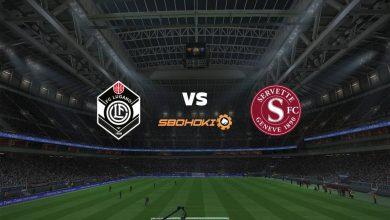 Photo of Live Streaming  FC Lugano vs Servette 25 April 2021