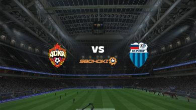 Photo of Live Streaming  CSKA Moscow vs FC Rotor Volgograd 12 April 2021