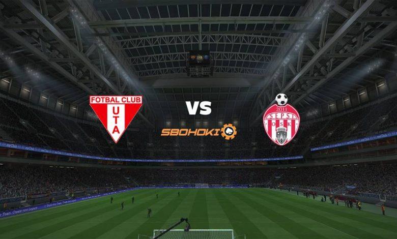 Live Streaming  UTA Arad vs Sepsi Sfantu Gheorghe 4 April 2021 1