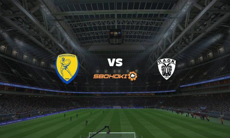 Live Streaming  Panathinaikos vs PAOK Salonika 4 April 2021 1