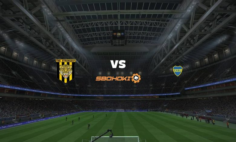 Live Streaming  The Strongest vs Boca Juniors 21 April 2021 1
