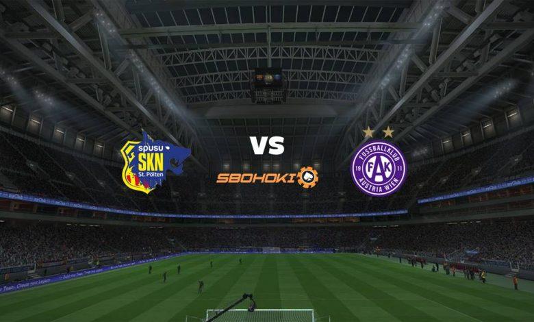 Live Streaming  St. Pölten vs Austria Vienna 17 April 2021 1