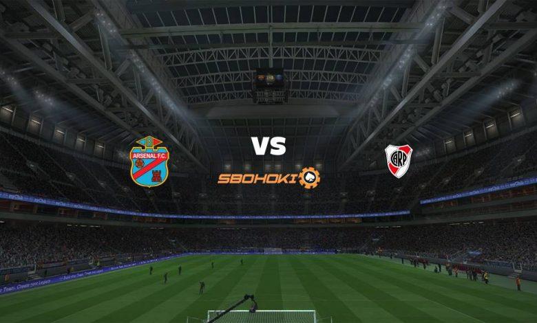 Live Streaming  Arsenal de Sarandí vs River Plate 4 April 2021 1