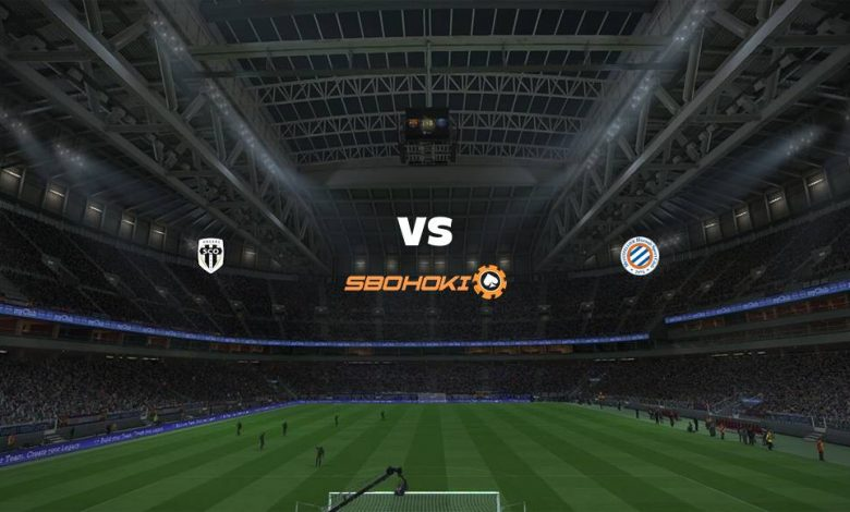 Live Streaming  Angers vs Montpellier 4 April 2021 1