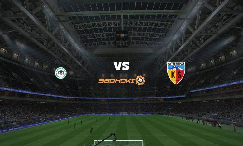 Live Streaming  Konyaspor vs Kayserispor 16 April 2021 1