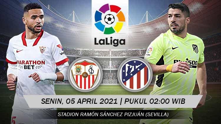 Preview Sevilla vs Atletico Madrid: Ambisi Mempertahankan Tahta La Liga 1