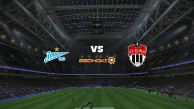 Photo of Live Streaming  Zenit St Petersburg vs FC Khimki 5 April 2021