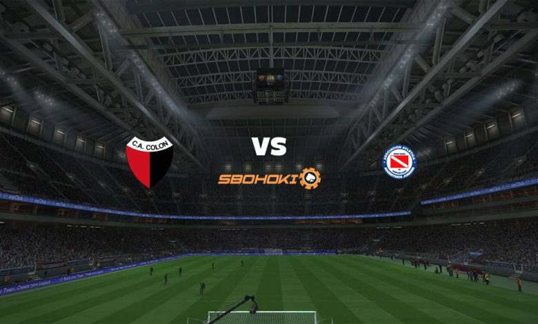 Live Streaming  Colón (Santa Fe) vs Argentinos Juniors 4 April 2021 1