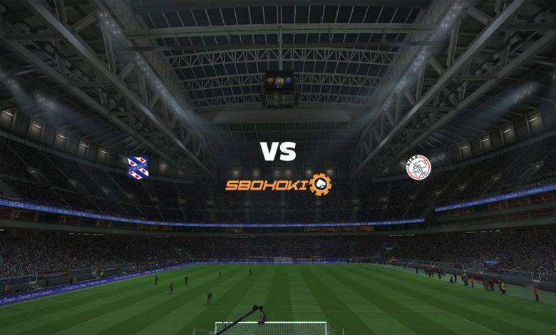 Live Streaming  Heerenveen vs Ajax Amsterdam 4 April 2021 1
