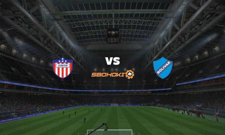 Live Streaming  Atlético Junior vs Bolívar 16 April 2021 1