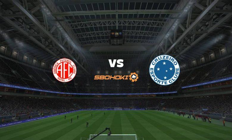 Live Streaming  América-RN vs Cruzeiro 15 April 2021 1