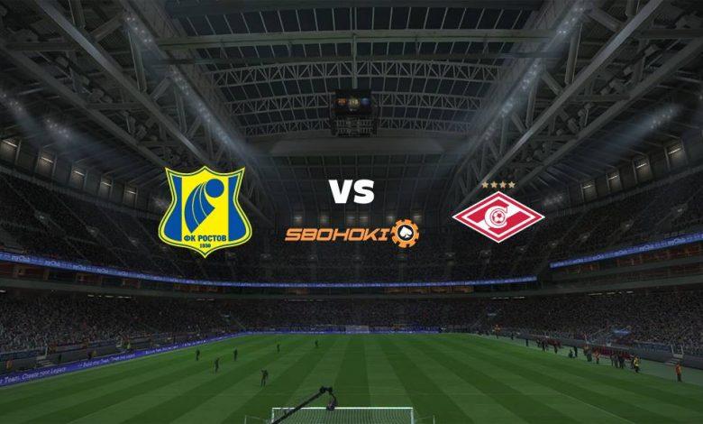 Live Streaming  Rostov vs Spartak Moscow 4 April 2021 1