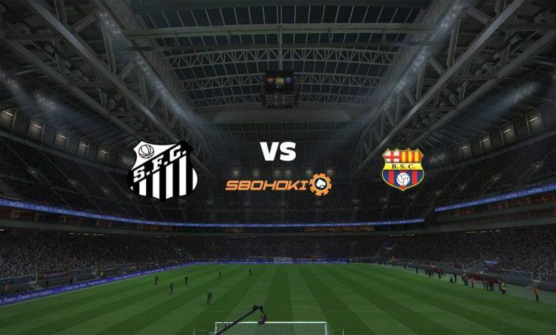 Live Streaming  Santos vs Barcelona SC 20 April 2021 1