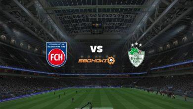 Photo of Live Streaming  1. FC Heidenheim vs SpVgg Greuther Furth 3 April 2021