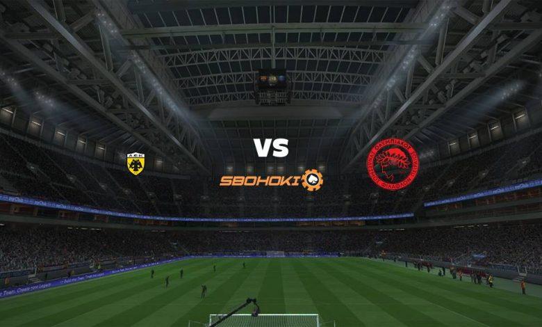Live Streaming  AEK Athens vs Olympiakos 4 April 2021 1
