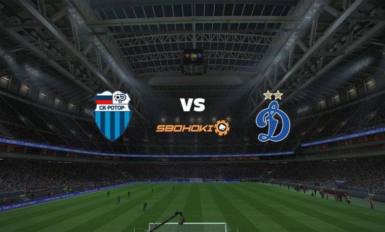 Live Streaming  FC Rotor Volgograd vs Dinamo Moscow 17 April 2021 1