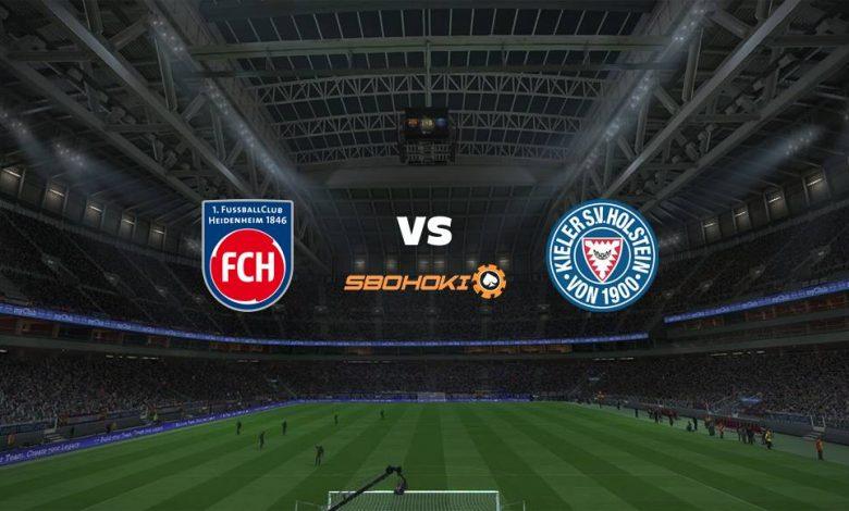 Live Streaming  1. FC Heidenheim vs Holstein Kiel 6 April 2021 1