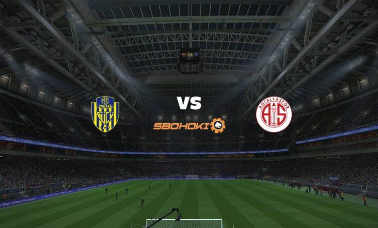 Live Streaming  Ankaragucu vs Antalyaspor 4 April 2021 1