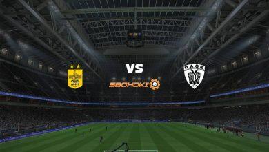 Photo of Live Streaming  Aris vs PAOK Salonika 21 April 2021