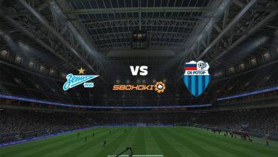 Photo of Live Streaming  Zenit St Petersburg vs FC Rotor Volgograd 24 April 2021