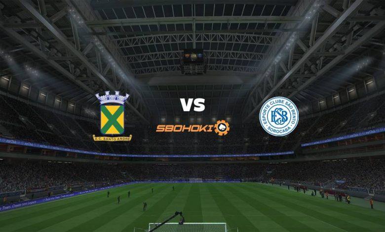 Live Streaming  Santo André vs São Bento 13 April 2021 1