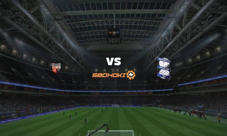 Live Streaming  Brentford vs Birmingham City 6 April 2021 1