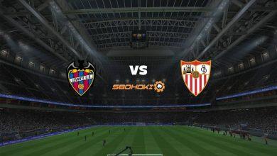 Photo of Live Streaming  Levante vs Sevilla 21 April 2021