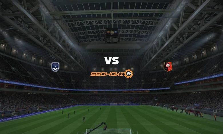 Live Streaming  Bordeaux vs Rennes 2 Mei 2021 1
