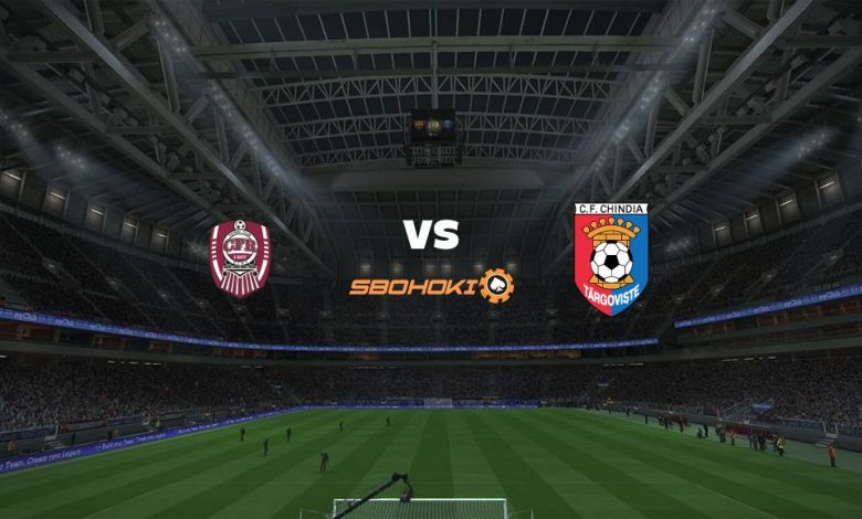 Live Streaming  CFR Cluj-Napoca vs Chindia Targoviste 31 Juli 2021 1