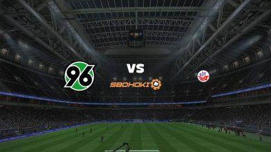Photo of Live Streaming  Hannover 96 vs Hansa Rostock 31 Juli 2021