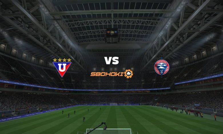 Live Streaming  Liga de Quito vs Olmedo 1 Agustus 2021 1