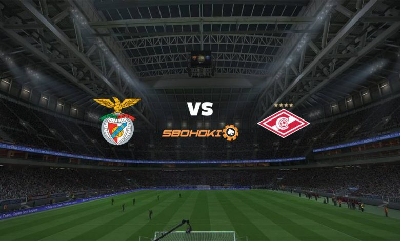 Live Streaming  Benfica vs Spartak Moscow 10 Agustus 2021 1