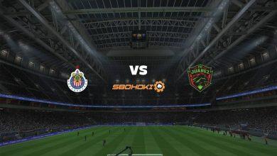 Photo of Live Streaming  Chivas Guadalajara vs FC Juarez 7 Agustus 2021