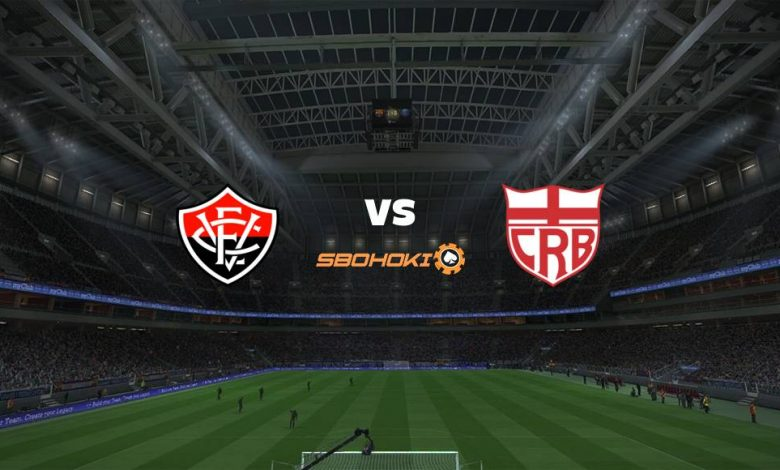 Live Streaming  Vitória vs CRB 15 Agustus 2021 1