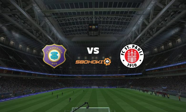 Live Streaming  FC Erzgebirge Aue vs St Pauli 1 Agustus 2021 1