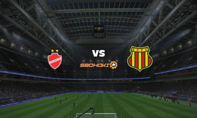 Live Streaming  Vila Nova-GO vs Sampaio Corrêa 8 Agustus 2021 1
