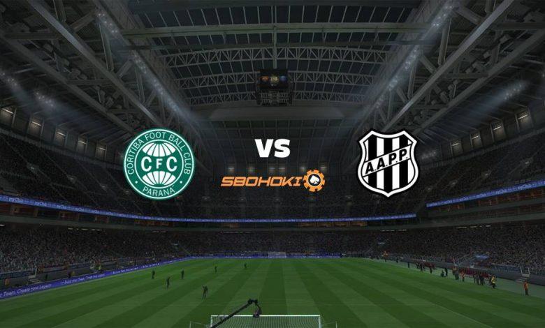 Live Streaming  Coritiba vs Ponte Preta 18 Agustus 2021 1
