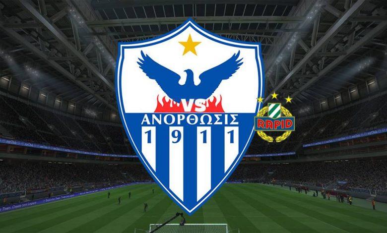 Live Streaming  Anorthosis Famagusta vs Rapid Vienna 12 Agustus 2021 1