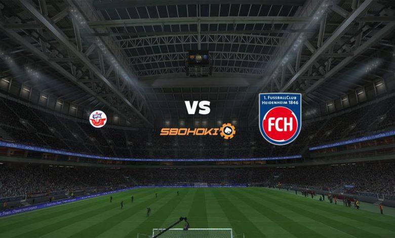 Live Streaming  Hansa Rostock vs 1. FC Heidenheim 8 Agustus 2021 1
